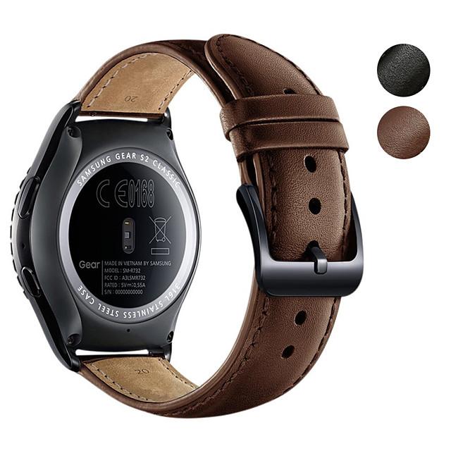 Ремешок для часов для vivomove / vivomove HR / Vivoactive 3 Garmin Спортивный ремешок Натуральная кожа Повязка на запястье
