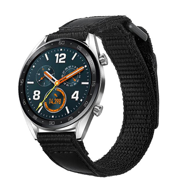 Cinturino per orologio  per Huawei Watch GT / huawei Honor Magic / Huawei Watch GT 2 Huawei Business Band Nylon Custodia con cinturino a strappo