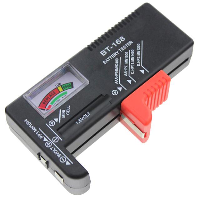 indicateur de testeur de cellules de batterie aa aaa c / d testeur de capacité de batterie