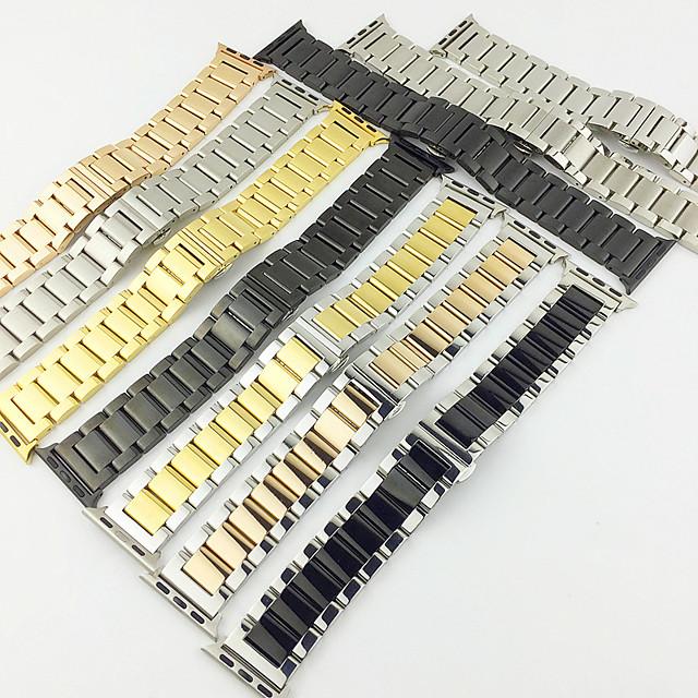 حزام إلى Apple Watch Series 4/3/2/1 Apple بكلة عصرية ستانلس ستيل شريط المعصم