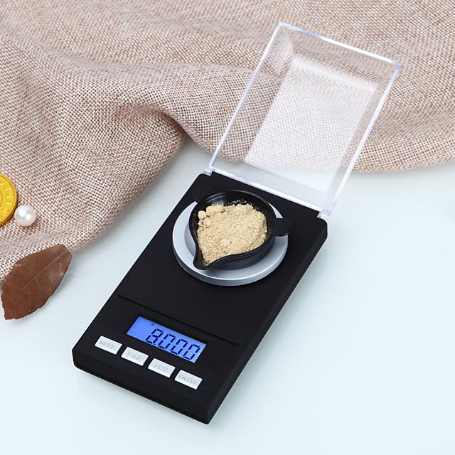 0.005g-50g balance numérique de précision de laboratoire balance médicale lcd affichage portable bijoux balances gram poids balance