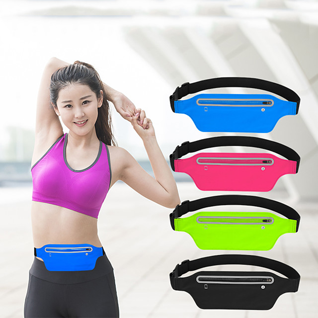Running Waist Pack-Water Resistant Runners Belt Pack for Hiking Fitness