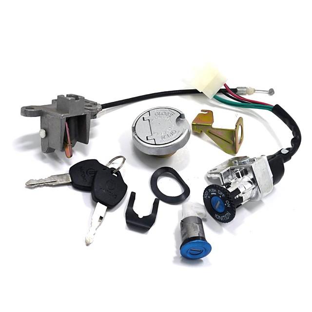 zestaw zamka zapłonowego gy6 key do skutera motoroweru 110 150 250cc 49 50cc chiński