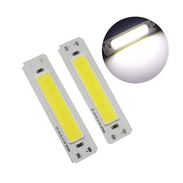 60 * 15mm led 5v čip 2w cob led pásek zdroje světla bar světla diy usb stolní lampy led 5v panel