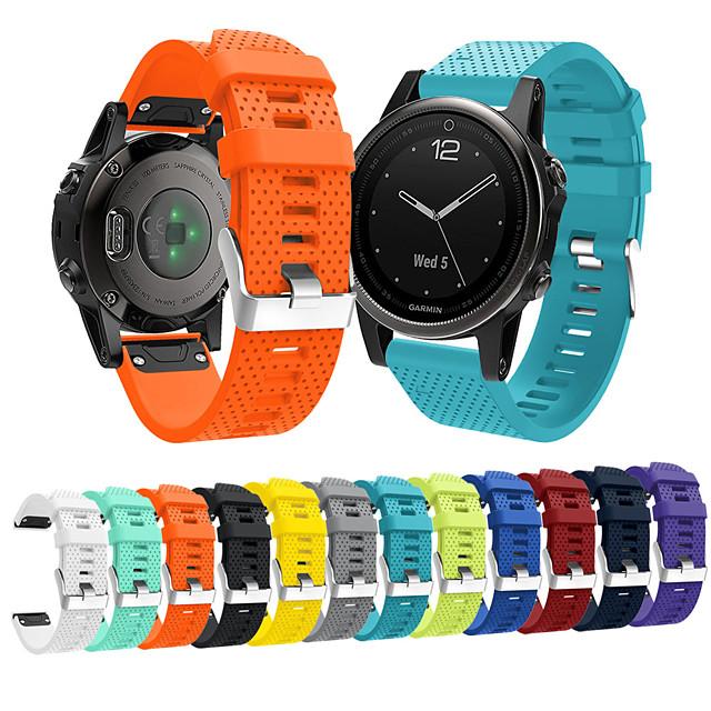 시계 밴드 용 Fenix 5s / Fenix 5s Quickfit Garmin 스포츠 밴드 실리콘 손목 스트랩