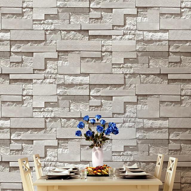 papier peint non-tissé adhésif pour revêtement mural brique nécessaire 950 * 53 cm