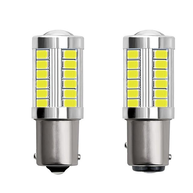 2шт 1156 ba15s 1157 bay15d автомобиль светодиодные лампочки 4 Вт 12 В smd 5730 33 светодиодные указатели поворота задние фонари стоп-сигналы стоп-сигналы