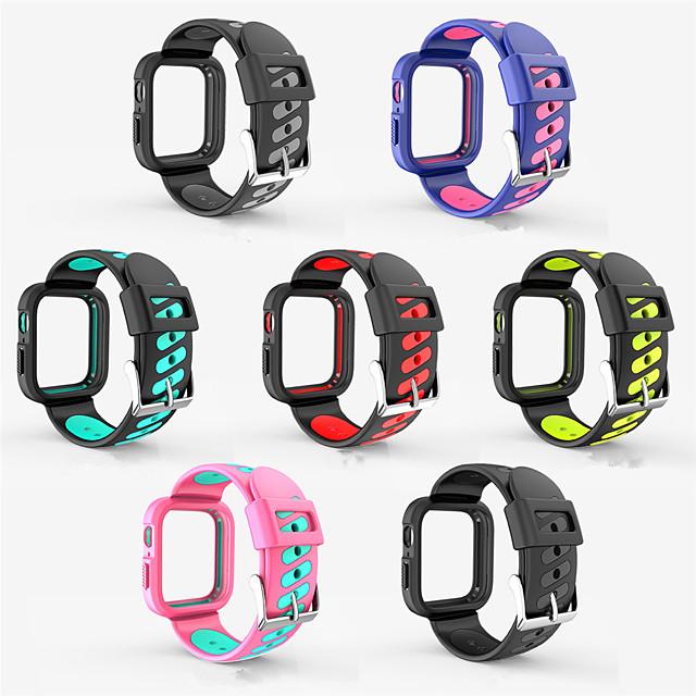 ny silikon en rem för Apple Watch Band 44mm 40mm ersätt andas armband för iwatchband 4 3 2 1 sportband 38mm 42mm