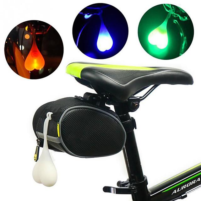 LED Luzes de Bicicleta Luz Traseira Para Bicicleta luzes de segurança Ciclismo de Montanha Moto Ciclismo Impermeável Portátil Atenção Durável 3000 lm RGB Vermelho Azul Campismo / Escursão
