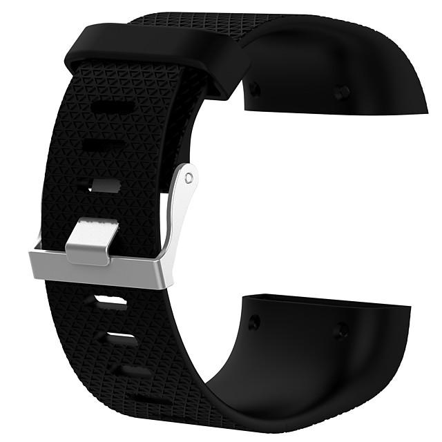 時計バンド のために Fitbit Surge Fitbit スポーツバンド シリコーン リストストラップ