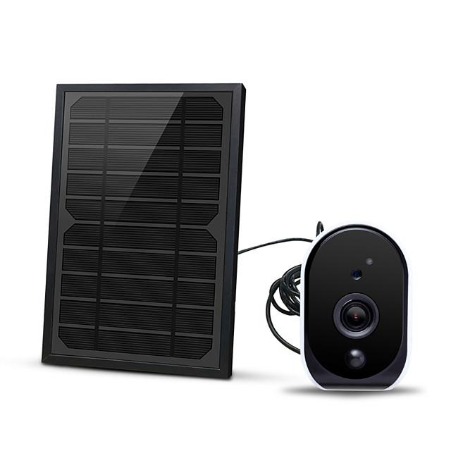 1080p con 18650 batteria 5w pannello solare batteria bassa wifi ip camera