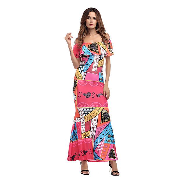 Damen Grundlegend Elegant A-Linie Bodycon Hülle Kleid ...