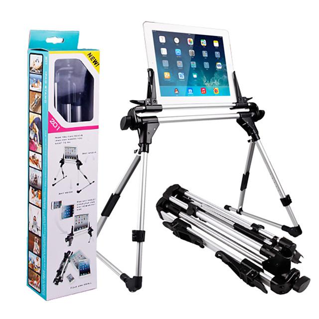 aluminiumslegering stativ står foldbar justerbar holder skrivebord / seng mount stand telefon tablet til rådighed