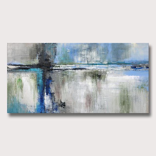 peinture à l'huile peinte à la main abstraite moderne toile roulée roulée sans cadre