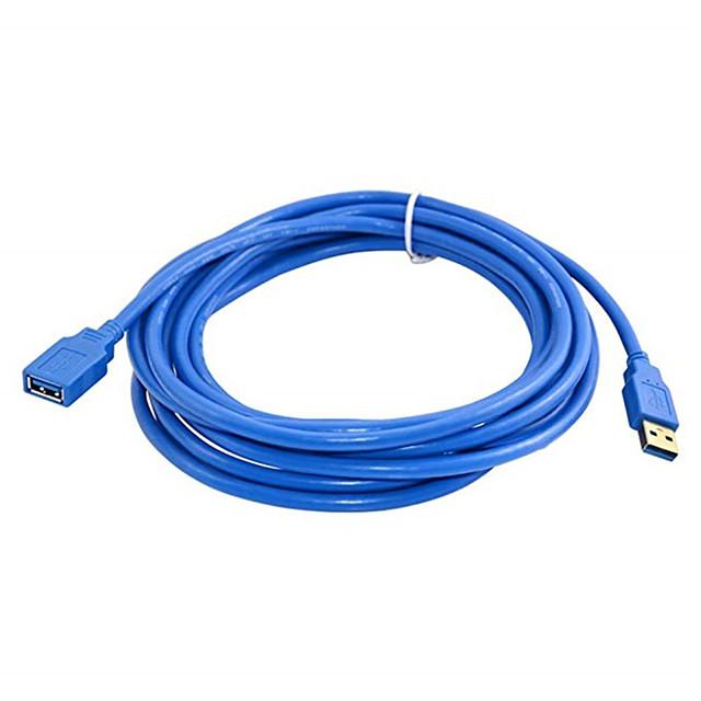 3m מהירות גבוהה USB 3.0 כבל הארכה כבל USB זכר לנקבה נתונים כבל סינכרון