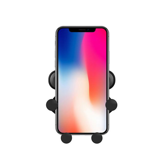 Suportes para Celular Carro Xiaomi MI Samsung Apple HUAWEI Grade de saída de ar Tipo de fivela Tipo de Gravidade Tipo de saída Plástico Duro Acessório para Celular iPhone 12 11 Pro Xs Xs Max Xr X 8