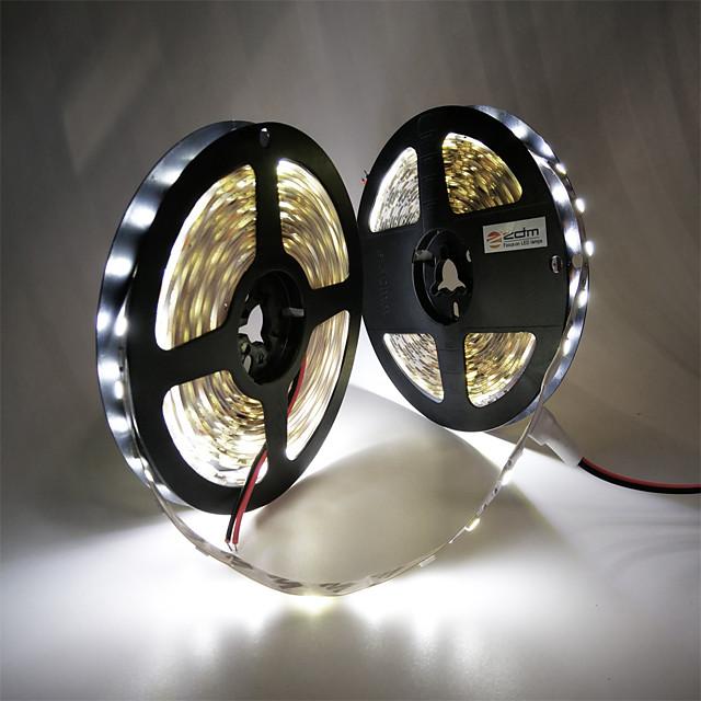 ZDM® 10m bandes lumineuses LED Ruban LED Flexibles 600 LED SMD5050 10mm 1pc Blanc Chaud Blanc Froid Rouge Découpable Design nouveau Décorative 12 V  Auto-Adhésives