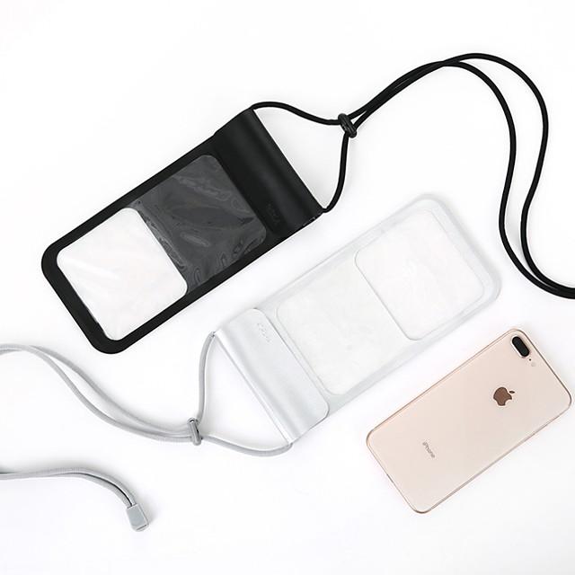 Кейс для Назначение универсальный Универсальный Защита от влаги Водонепроницаемый мешочек Однотонный Мягкий ТПУ