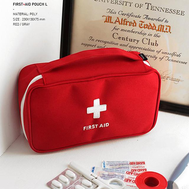 Organizér zavazadel / Cestovní pouzdro na léky / Lékárnička Polyester Přenosný / Odolné vůči prachu / Nouzové doplňky Jednobarevné