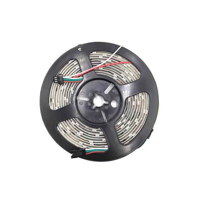 BRELONG® 5m Barrette d'Eclairage RVB 300 LED SMD5050 1 set Plusieurs Couleurs Découpable Soirée Décorative 12 V