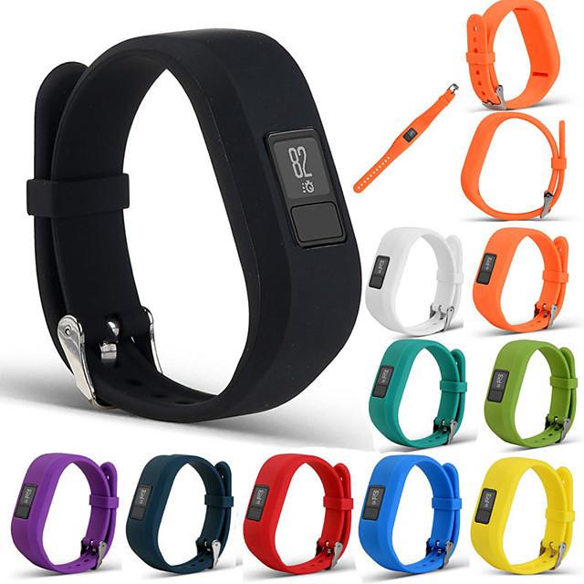 bracelet en silicone sport bracelet dragonne pour garmin vivofit 3