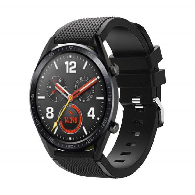 ремешок для часов huawei часы gt huawei watch 2 classic band 22мм быстросъемный силиконовый сменный ремешок для снаряжения s3 время галочки moto 360 lg g часы ticwatch pro asus vivowatch zenwatch 2