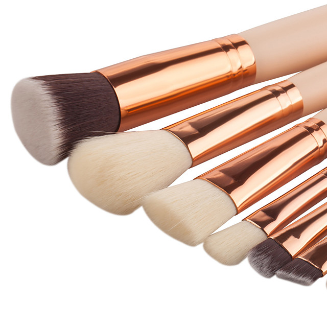 Beauty Blender Or Brush For Full Coverage: Professional Makeup Brushes Makeup Brush Set 8pcs Soft