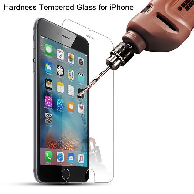 telefono Proteggi Schermo Per Apple iPhone 11 iPhone XR iPhone 11 Pro iPhone 11 Pro Max iPhone XS Vetro temperato 1 pezzo Alta definizione (HD) Durezza 9H Estremità angolare a 2,5D Proteggi-schermo