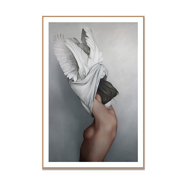 Art Imprimé encadré Toile Encadrée Imprimés - Personnage Polystyrène Peinture a l'huile Art mural