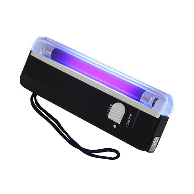 tenue uv uv lumière noire lampe de poche portable Ampoules LED lampe de poche mini lumière portable lumière de travail