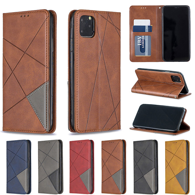 Case For Apple iPhone XR iPhone XS Max Phone Case PU Leather Material Diamond Dark Magnetic Solid Color Phone Case for iPhone XS X 7 8 7 Plus 8 Plus 6 6s 6 Plus 6s Plus