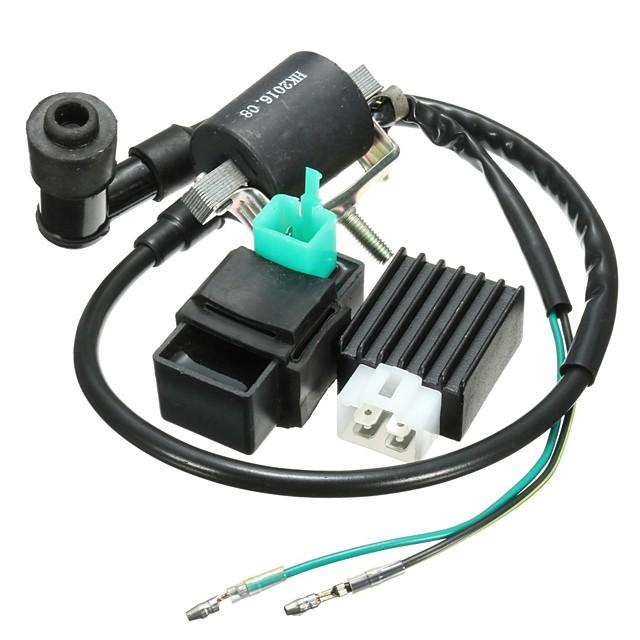 o regulador do retificador da unidade do cdi da bobina de ignição da motocicleta cabe para a bicicleta da sujeira do poço de 110cc 125cc 140cc