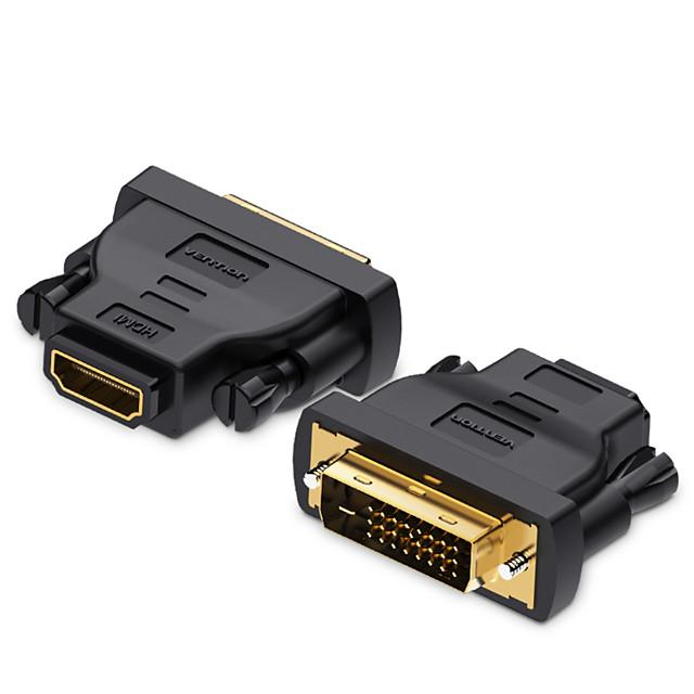 vention dvi hdmi adapter dvi 241 na hdmi konverter muški na ženski 1080p hdtv priključak za pc ps3 projektor tv kutija plava-ray