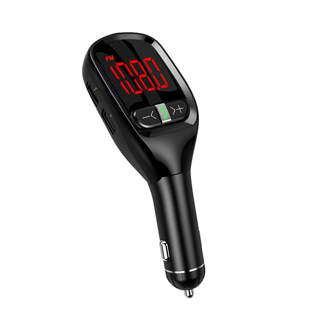 YuanYuanBenBen Bluetooth 4.2 Mains libres de voiture Bluetooth / MP3 / Emetteurs FM Automatique