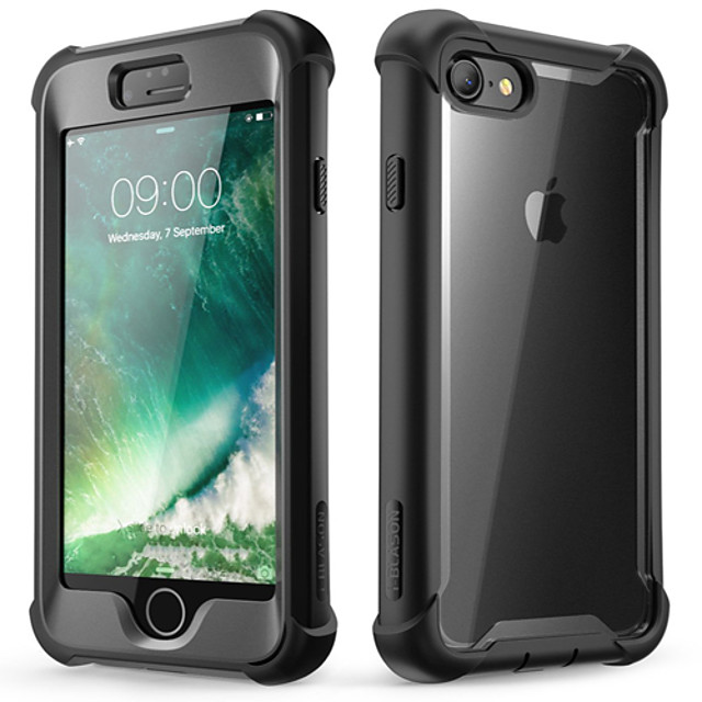 Кейс для Назначение Apple iPhone 12 / iPhone 12 Mini / iPhone 12 Pro Max Защита от удара / Защита от пыли Чехол / Бампер Однотонный Мягкий ТПУ