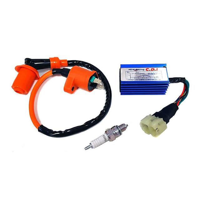 высокопроизводительная гоночная свеча зажигания&усилитель; AC CDI для комплекта gy6 50/125 / 150cc