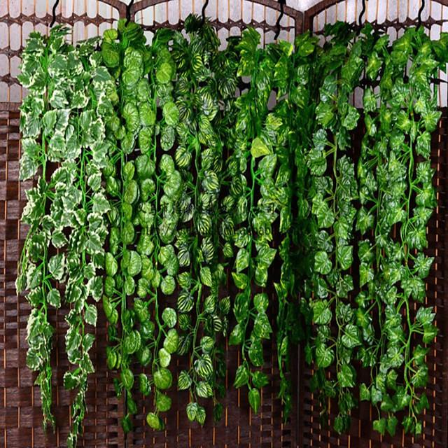 plantes artificielles fête en plastique / soirée mur de vigne fleur vigne 1 branche 99cm