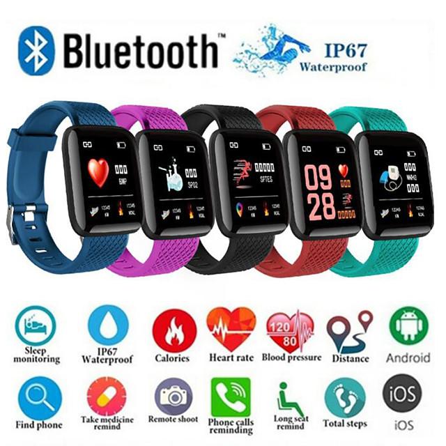 OEM di fabbrica D13 Intelligente Bracciale Bluetooth 0.3 pollice Misura dello schermo IP68 Impermeabile Schermo touch Monitoraggio frequenza cardiaca Pedometro Avviso di chiamata Localizzatore di