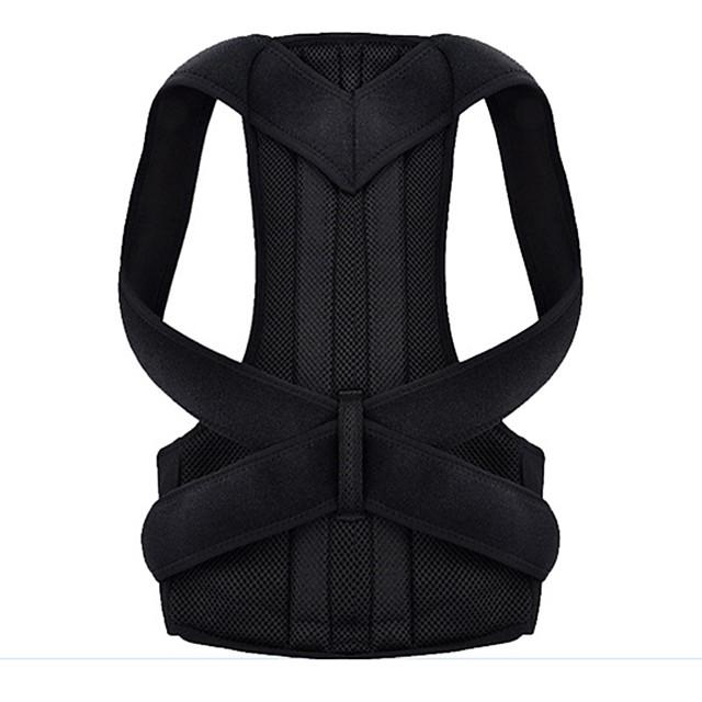 Epauliere Posture Trainer Polyester / Coton Etanche Poids Léger Correcteur de Posture Yoga Exercices d'Inversion Fitness Pour Homme Femme Tour de taille épaule Taille et Dos / Adulte