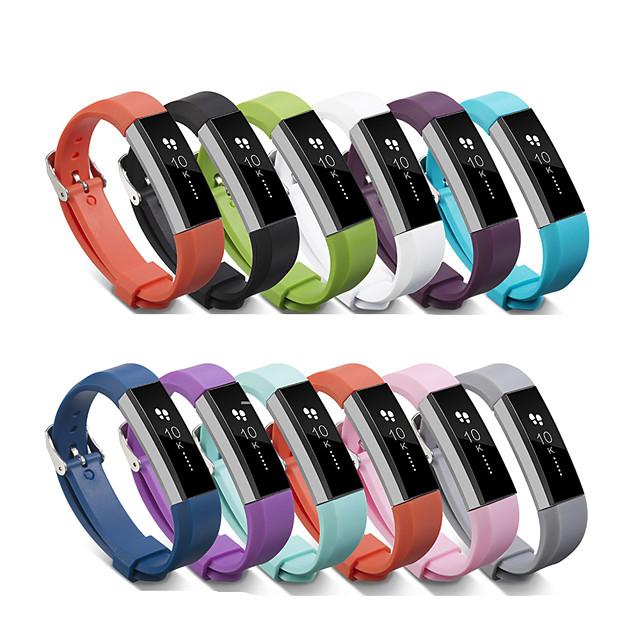 Ремешок для часов для Fitbit Alta HR / Fitbit Alta Fitbit Спортивный ремешок силиконовый Повязка на запястье