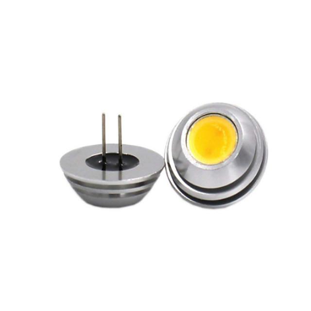 g4 led 전구 빛 cob 2w equvialent 10w holagen 전구 12v100lm 램프 따뜻한 흰색 차가운 빛 독서 빛 무승부 램프 1pc