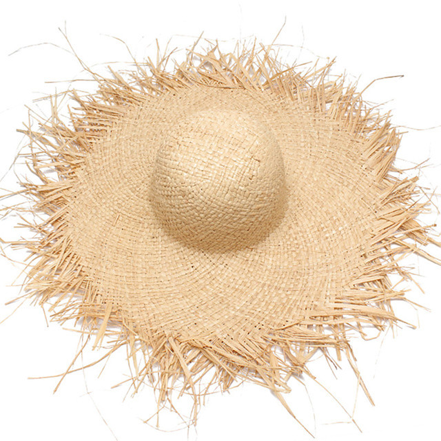 Straw Hats with Solid 1 Piece Casual / Daily Wear Headpiece