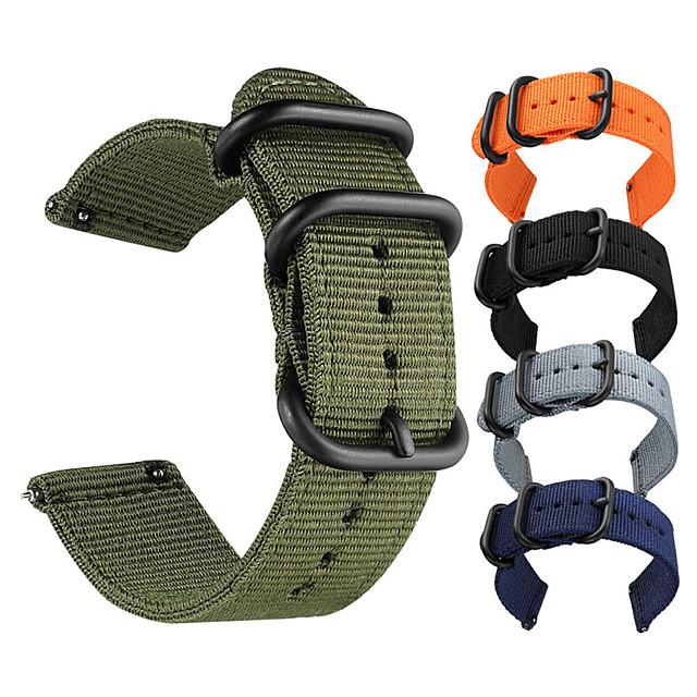 cinturino sportivo cinturino in nylon intrecciato per cinturino in tessuto samsung galaxy gear s3 s2