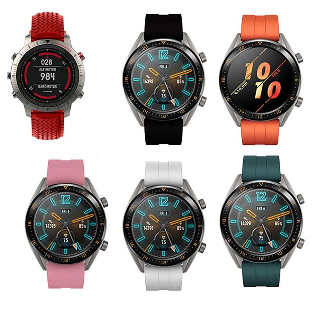 sport silikon armbånd armbåndsur armbåndsur for garmin fenix chronos erstatning armbånd band smart klokke tilbehør
