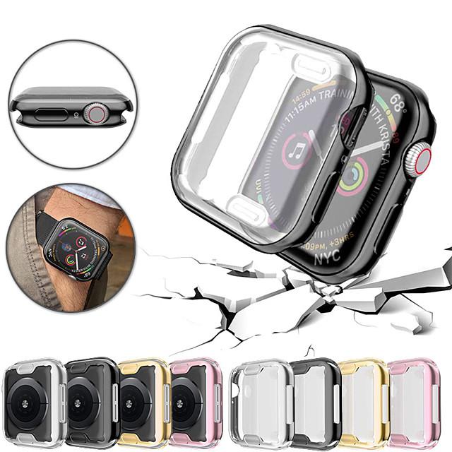 ultra-mince de protection tpu couverture de cas de protection pare-chocs pour apple watch series 4/3/2/1 40/44/38 / 42mm