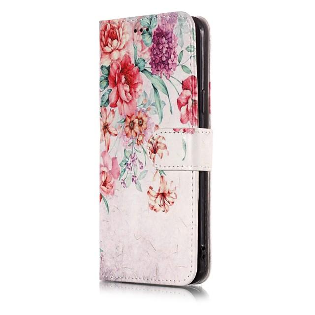 غطاء من أجل Samsung Galaxy A5 (2017) ضد الصدمات / ضد الغبار / قلب غطاء كامل للجسم منظر / كارتون قاسي جلد PU
