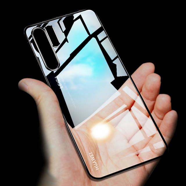 Hülle ultra dünner transparenter Telefonkasten für Huawei P30 Pro P30 Lite P30 P20 Pro P20 Lite P20 Überzug weiches TPU-Silikon full cover shockproof
