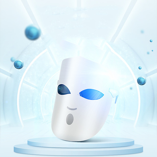 k-skin kd036 foton maska za lice pod maskom svjetlosna terapija pomlađivanje kože njega kože protiv akni uklanjanje bora masaža 3 boje