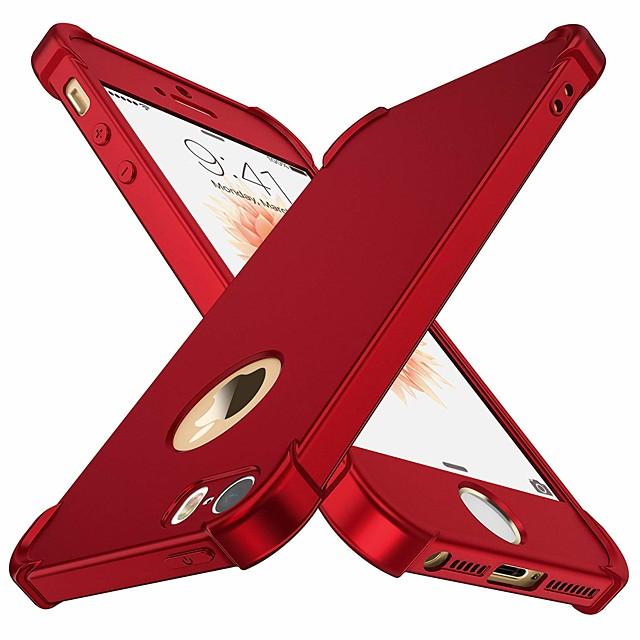 Θήκη Za Apple iPhone 12 / iPhone 12 Mini / iPhone 12 Pro Max Otporno na trešnju Stražnja maska Jednobojni Tvrdo TPU / PC