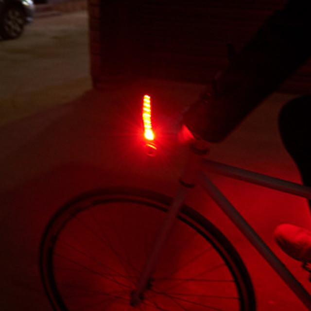 LED Eclairage de Velo Feux clignotants Eclairage guidon vélo Vélo Cyclisme Imperméable Modes multiples Sécurité Avertissement 50 lm Rouge Bleu Cyclisme